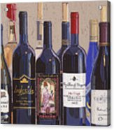 Make Mine Virginia Wine Number One Acrylic Print by Christopher Mize