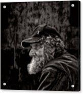Man With A Beard Acrylic Print by Bob Orsillo