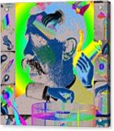 Manipulation Acrylic Print by Eric Edelman