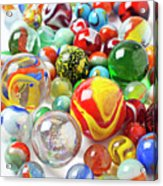 Many Marbles  Acrylic Print by Garry Gay