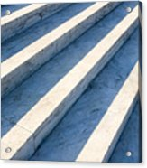 Marble Steps, Jefferson Memorial, Washington Dc, Usa, North America Acrylic Print by Paul Edmondson