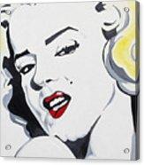 Marilyn Monroe Acrylic Print by Joseph Palotas