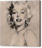 Marilyn Monroe Acrylic Print by Ylli Haruni