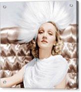 Marlene Dietrich, Ca. 1930s Acrylic Print by Everett