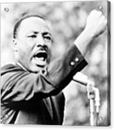 Martin Luther King, Jr., Gesturing Acrylic Print by Everett