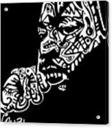 Martin Luther King Jr. Acrylic Print by Kamoni Khem