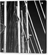 Mast Profile Acrylic Print by John Rizzuto