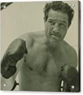 Max Baer 1909-1959, One-time Acrylic Print by Everett