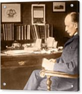 Max Planck, German Physicist Acrylic Print by Science Source