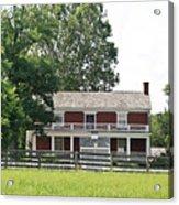 Mclean House Appomattox Court House Virginia Acrylic Print by Teresa Mucha