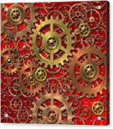 Mechanism Acrylic Print by Michal Boubin