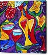 Medicine For Love  Acrylic Print by Luiza Vizoli