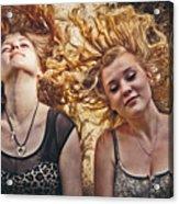 Medusae Acrylic Print by Loriental Photography