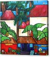 Mercado En Puerto Rico Acrylic Print by Patti Schermerhorn