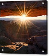 Mesa Glow Acrylic Print by Chad Dutson