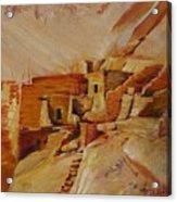 Mesa Verde Acrylic Print by Summer Celeste