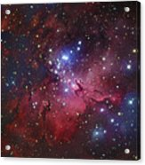 Messier 16, The Eagle Nebula In Serpens Acrylic Print by Robert Gendler