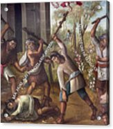 Mexico: Christian Martyrs Acrylic Print by Granger