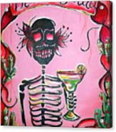 Mi Margarita Acrylic Print by Heather Calderon