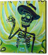 Mi Tequila Acrylic Print by Heather Calderon