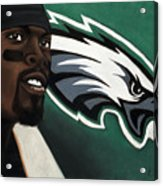 Michael Vick Acrylic Print by L Cooper