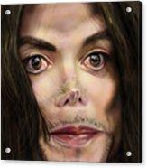 Michaels Magnum Opus 1 Acrylic Print by Reggie Duffie