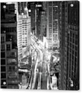 Michigan Avenue Acrylic Print by George Imrie Photography