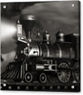 Midnight Flyer Acrylic Print by Tom Mc Nemar