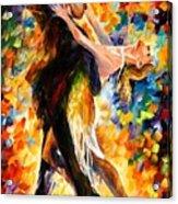 Midnight Tango Acrylic Print by Leonid Afremov