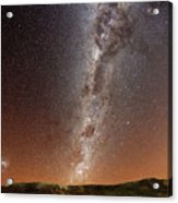 Milky Way Acrylic Print by (c) 2010 Luis Argerich