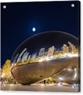 Millennium Park - Chicago Il Acrylic Print by Drew Castelhano