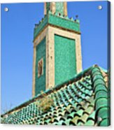 Minaret Of Grand Mosque Acrylic Print by Kelly Cheng Travel Photography