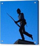 Minnesota Soldier Monument At Gettysburg Acrylic Print by John Greim