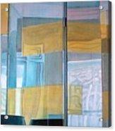 Miroir Acrylic Print by Muriel Dolemieux