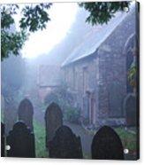 Misty St Budeaux Acrylic Print by Donald Davis