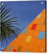 Modern Architecture Acrylic Print by Susanne Van Hulst