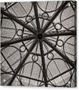 Modern Geometry Acrylic Print by Charles Dobbs
