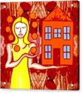 Modern Woman Acrylic Print by Patrick J Murphy