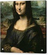 Mona Lisa Acrylic Print by Leonardo da Vinci