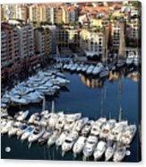 Monaco Acrylic Print by Tom Prendergast