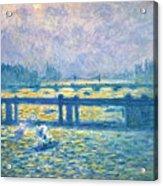 Monet: Charing Cross Acrylic Print by Granger