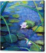 Monets Garden Acrylic Print by Susan Jenkins