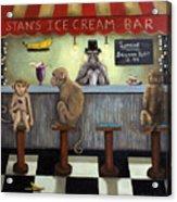 Monkey Business Acrylic Print by Leah Saulnier The Painting Maniac