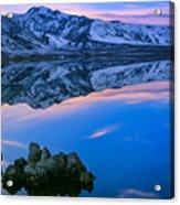 Mono Lake Twilight Acrylic Print by Inge Johnsson