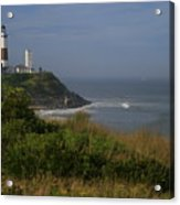 Montauk Point Acrylic Print by Christopher Kirby
