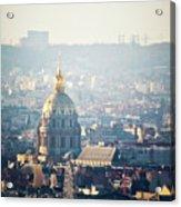 Montmartre Sacre Coeur Acrylic Print by By Corsu sur FLICKR
