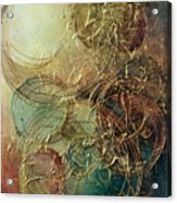 Moon Thread Acrylic Print by Michael Lang