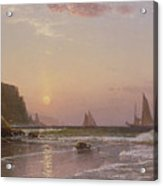Morning At Grand Manan Acrylic Print by Alfred Thompson Bricher