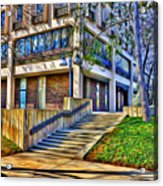 Morning Before Business Acrylic Print by Stephen Younts