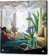 Mother's Love Acrylic Print by Greg Olsen